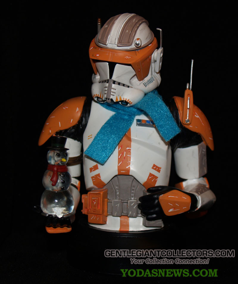 Commander Cody Mini bust Holiday exclu 1